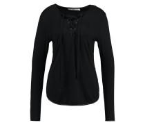 RANIA RAY Langarmshirt black