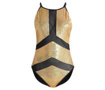 Badeanzug - gold