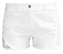 Jeans Shorts - bianco
