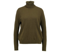 Strickpullover brown military