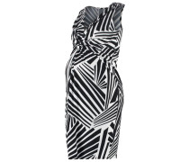 YARA - Jerseykleid - black