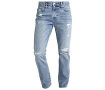 Jeans Slim Fit - destroyed light denim