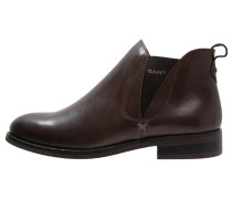AVERY Ankle Boot dark brown