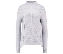 Strickpullover heather grey