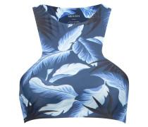 BARBADOS BikiniTop hawaiian coastal blue