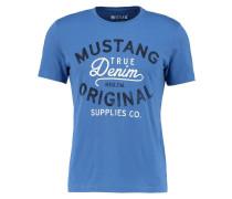 T-Shirt print - hellblau