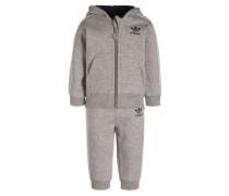Jogginghose medium grey heather/collegiate navy/white