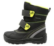 Snowboot / Winterstiefel - black/mais neon