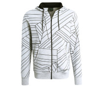 GREEN CONCEPT - Sweatjacke - grey melange/black