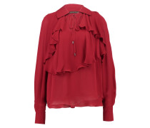 Bluse royal red