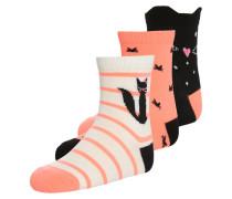 GLOW 3 PACK Socken cat