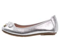 Klassische Ballerina metallic silver