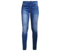 OBJSKINNYSALLY Jeans Skinny Fit medium blue denim