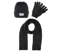 SET Mütze dark grey