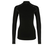 WARM FREEZE Langarmshirt black
