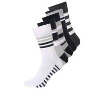 5 PACK Socken grey/white/black/beige