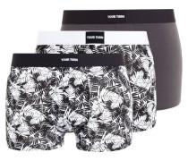 3 PACK - Panties - grey/black/white