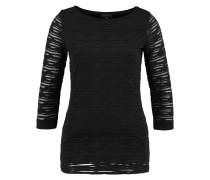 EWEVA Langarmshirt schwarz