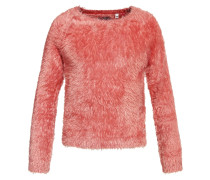 Strickpullover faded rose