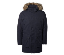 Wintermantel dark navy