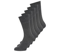 5 PACK Socken anthra