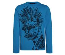 Langarmshirt blue