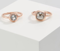 MILANO 2 PACK - Ring - rose gold-coloured