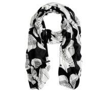 Schal black/white