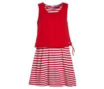 MARITIME HEART Jerseykleid true red