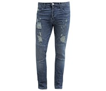BEARDEN MOTO Jeans Slim Fit destructed cayce