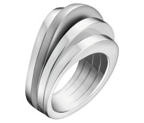 BREATHE - Ring - silver-coloured