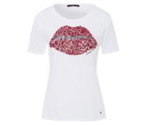 CORA - T-Shirt print - white