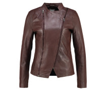 CALI Lederjacke dark brown