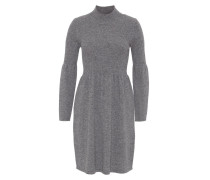 Strickkleid mottled mid grey