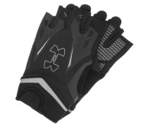 FLUX Kurzfingerhandschuh black/steel