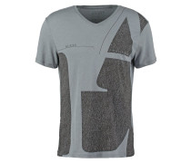 BE HERE NOW TShirt print alloy grey