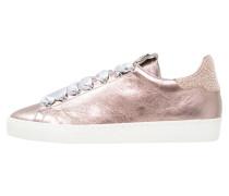 Sneaker low rose metallic