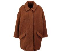 DINNIGAN Wollmantel / klassischer Mantel daim