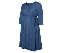 Jeanskleid - light blue denim