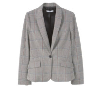 AZABACHE Blazer medium heather grey