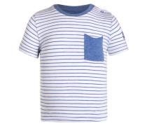 TShirt print blue melange