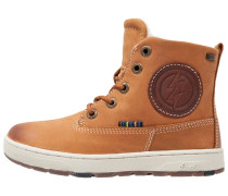 DOUG Sneaker high tan tabacco