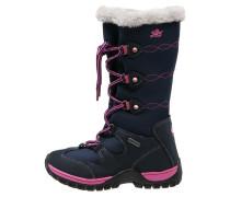 NATASCHA Snowboot / Winterstiefel marine/pink