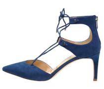 TAYLOR Schnürpumps bandana blue