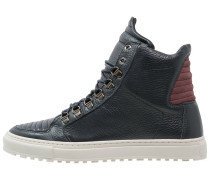 Sneaker high blu intenso