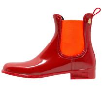 PISA Gummistiefel rouge/orange
