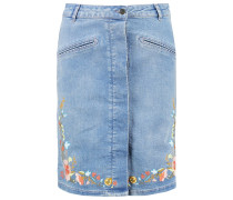 PIXIE - Jeansrock - medium blue