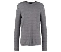 FARO Strickpullover grey melange