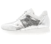 Sneaker low - argento/bianco