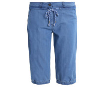 Jeans Shorts mid blue denim